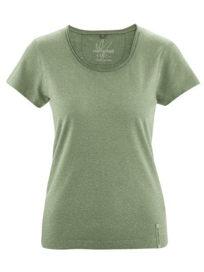 Hempage_T-shirt_Breeze_hennep_Cactus_DithaBonita_biokatoen