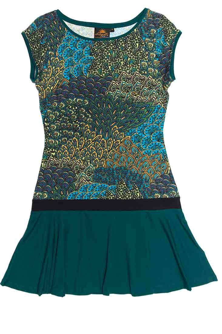 Chapati_dress_biokatoen_blauw_blue_peacock_tunic_tuniek_DithaBonita_G-7066_peacock_1_ID_10270