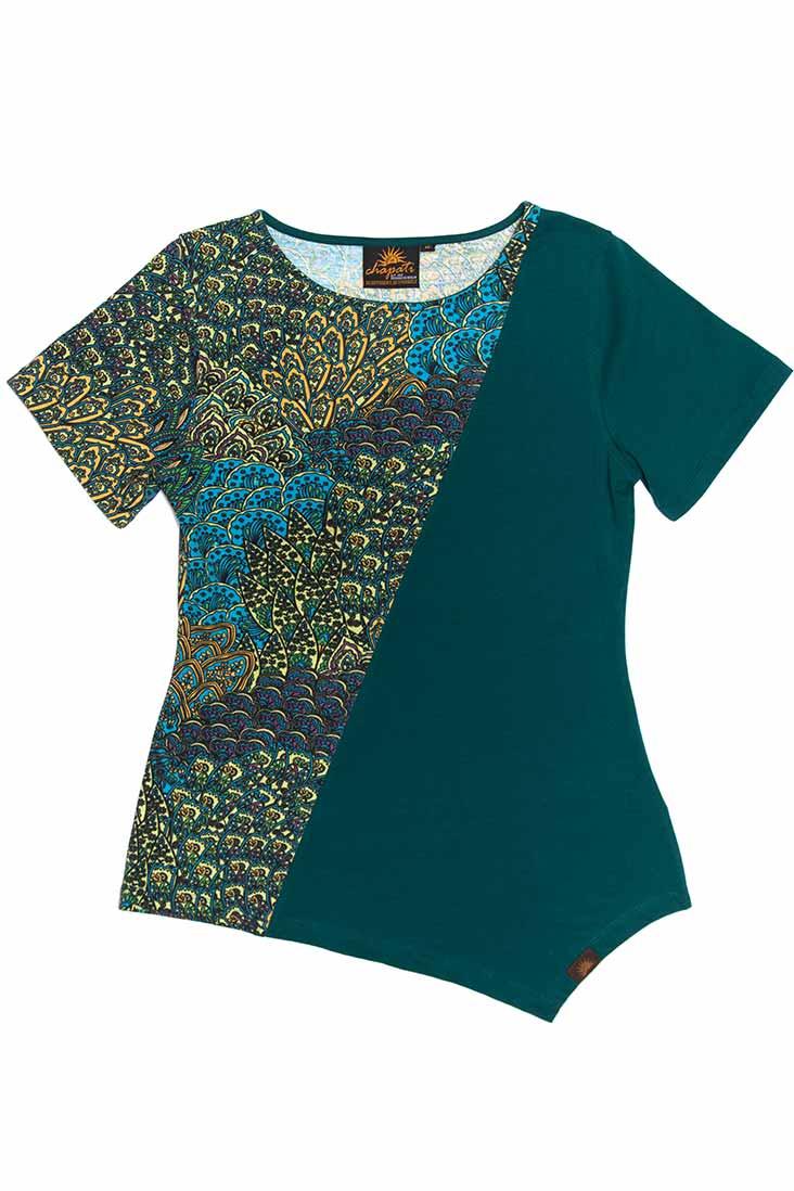 Chapati_shirt_biokatoen_organic-cotton_lycra_peacock_dithabonita_G-7126_peacook_1_front_ID_10375