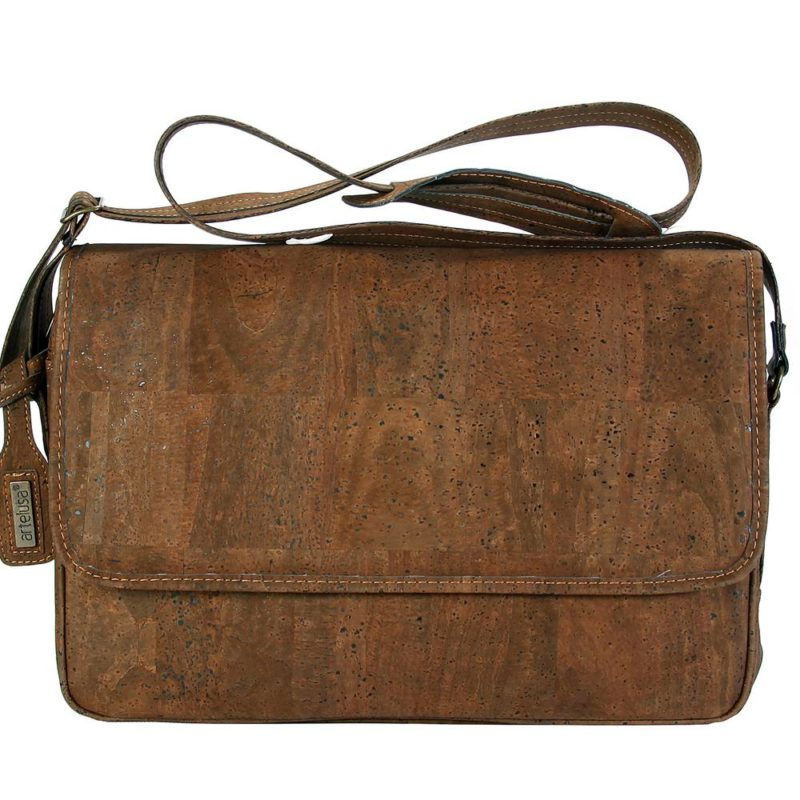 Artelusa_CROSSBODY BRIEFCASE_CHOCOLATE BROWN_cork_kurk_dithabonita_9258.02-OF01 a