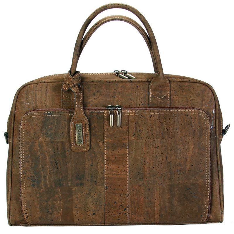 Artelusa_BRIEFCASE_CHOCOLATE BROWN_cork_kurk_dithabonita_9261.02-OF01 a