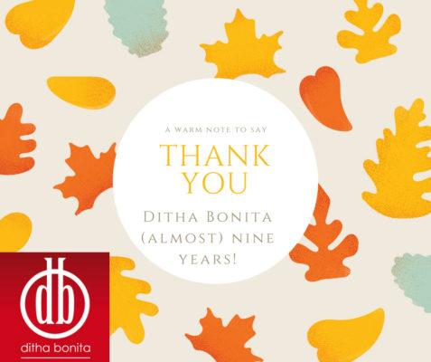 HappyBirthday Ditha Bonita!
