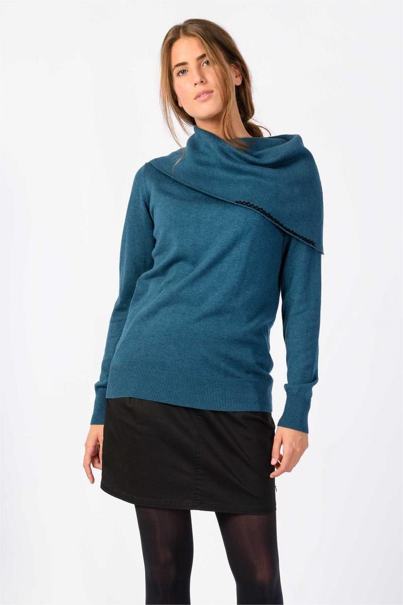 Skunkfunk_sweater_biocotton_modal_teal_trui_DithaBonita_F18_DEREDIA_WSW00315_GX_OFB1
