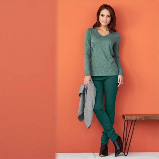 LivingCrafts_Long-sleeve-shirt_shirt-met-lange-mouwen_biokatoen_forest_groen_DithaBonita2
