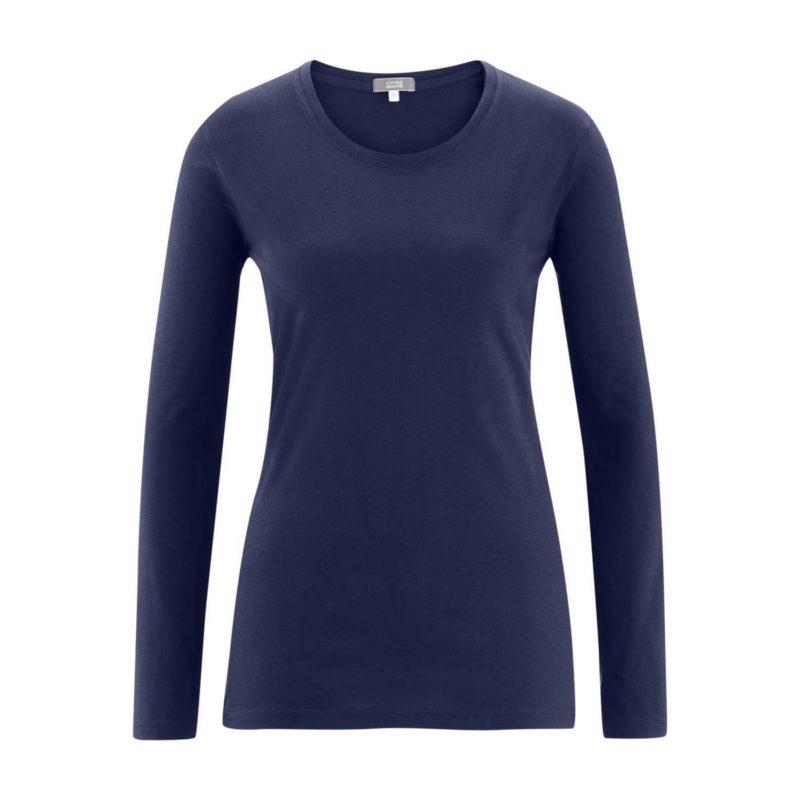 LivingCrafts_Long-sleeve-shirt_shirt-met-lange-mouwen_biokatoen_navy_DithaBonita