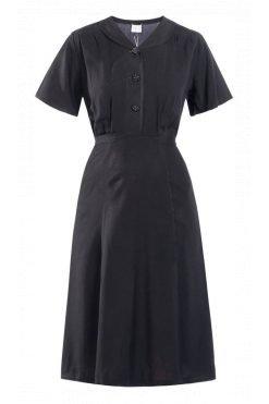 Mademoiselle-YéYé_kleding_Peta_approved_vegan_te-koop-bij-DithaBonita_A Lovely Moment - Dress (zwart)