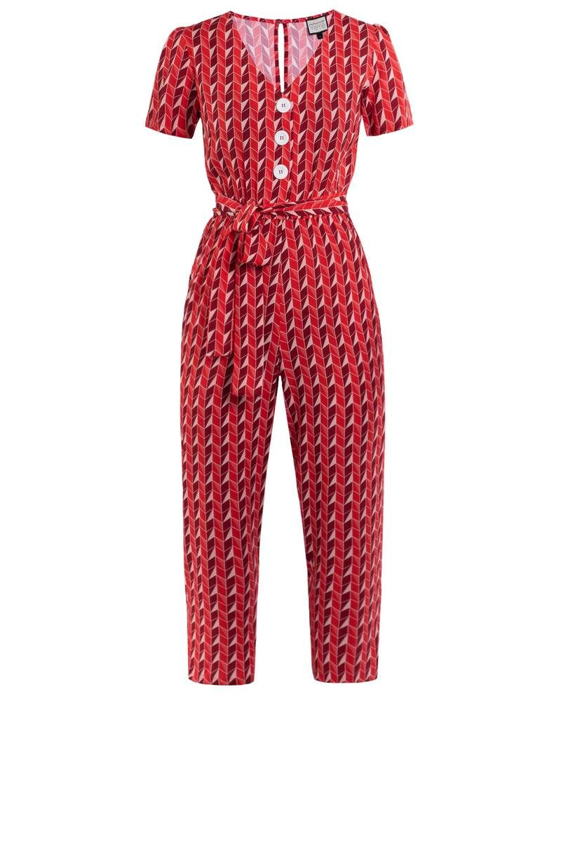 Mademoiselle-YéYé_kleding_Peta_approved_vegan_te-koop-bij-DithaBonita_It's A Fab World - Jumpsuit (primary)