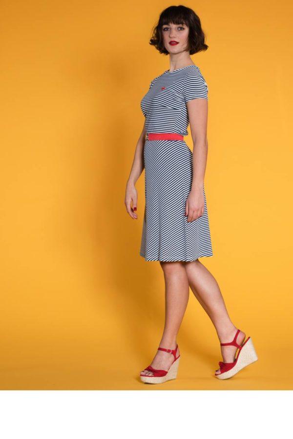 Mademoiselle-YéYé_kleding_Peta_approved_vegan_te-koop-bij-DithaBonita_Oh Yeah! - Dress p1