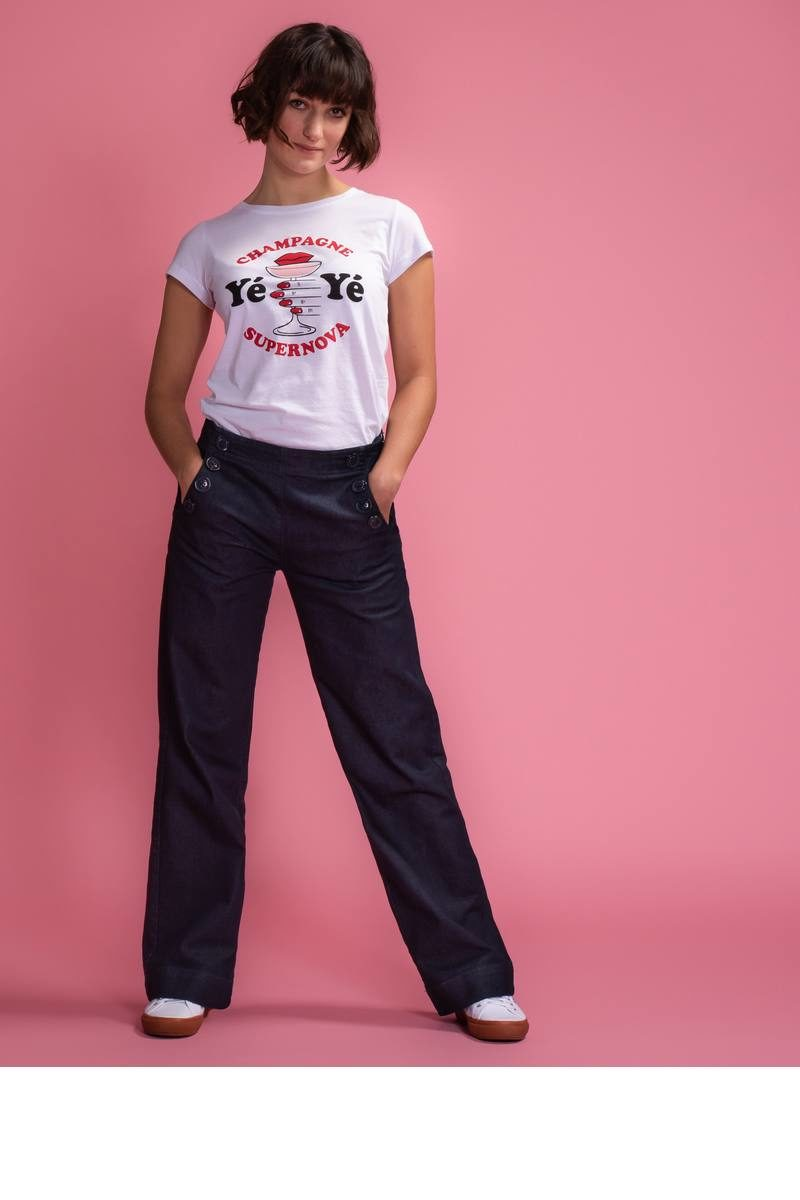 Mademoiselle-YéYé_kleding_Peta_approved_vegan_te-koop-bij-DithaBonita_Walk On By - Trousers (primary)