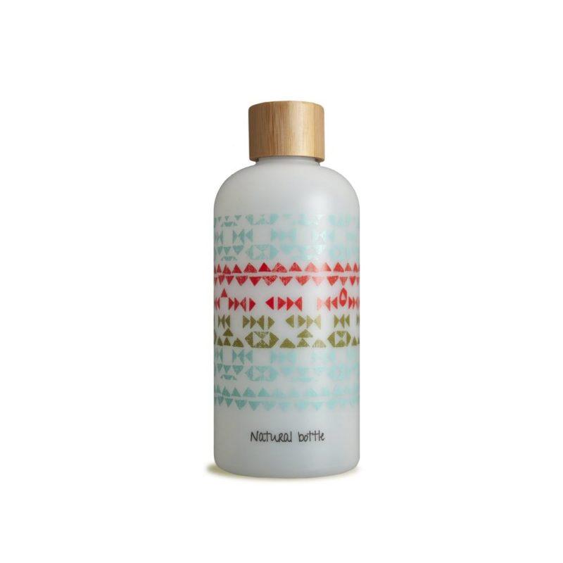 Natural-bottle_rietsuiker-plastic_bij_DithaBonita_Coral Reef - bottle-transparant-04