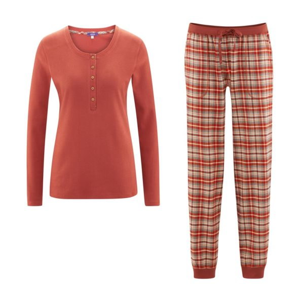 Living Crafts Pyjama in red clay