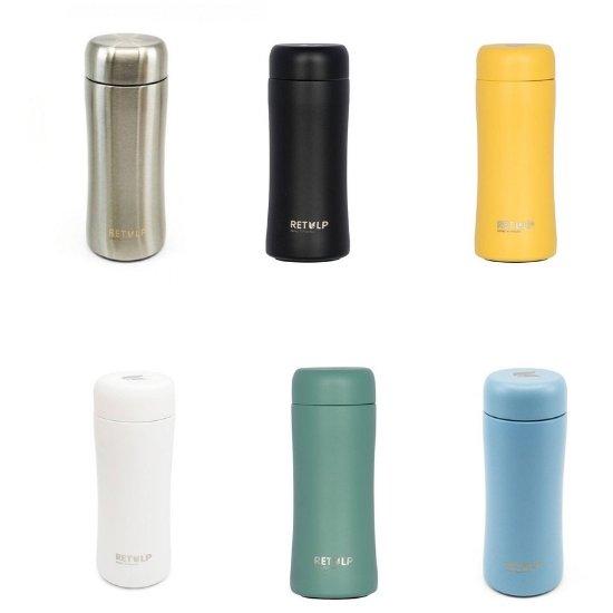 Retulp RVS thermosbeker in zes kleuren