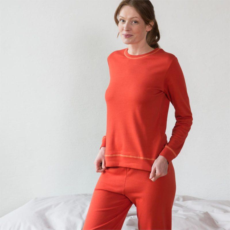 LivingCrafts_Cayenne-kleurig_Pyjama