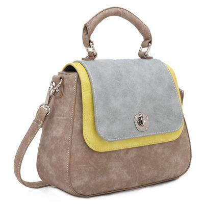 Hi-di-hi tassen Fairtrade PU bij-DithaBonita POPPY POP-03 SIDE LR