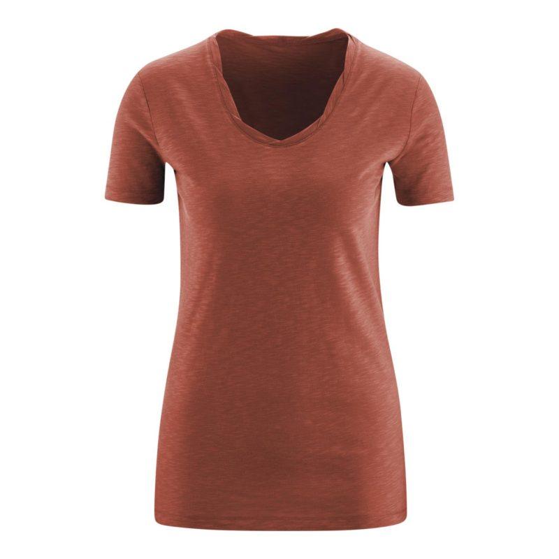 Living Crafts_T-shirt_Alexandra_Saffraan_Biokatoen_DithaBonita_GOTS