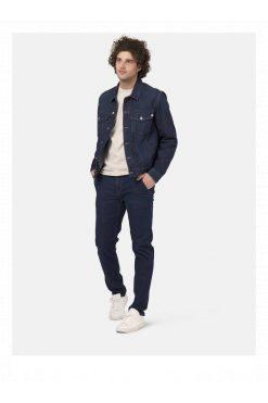 MUD Jeans_fairtrade_DithaBonita_Man-Organic-jeans-Dunn-Chino-Strong-Blue-fullfront-2