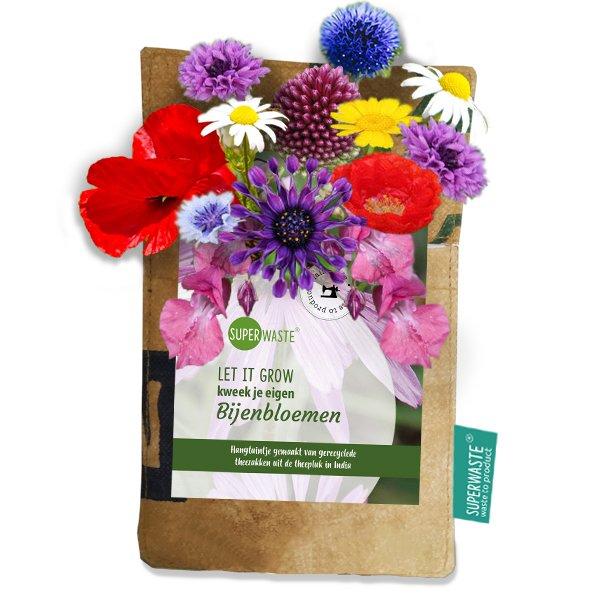 Hanging garden Bees flower blend SuperWaste bij Ditha Bonita