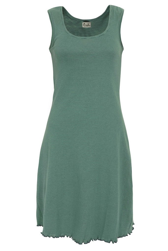 Jalfe basic jurkje groen blauw