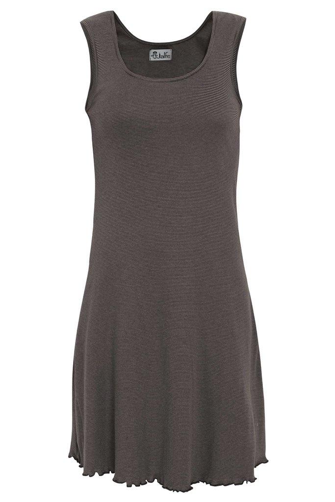 Jalfe basic jurkje antraciet grijs
