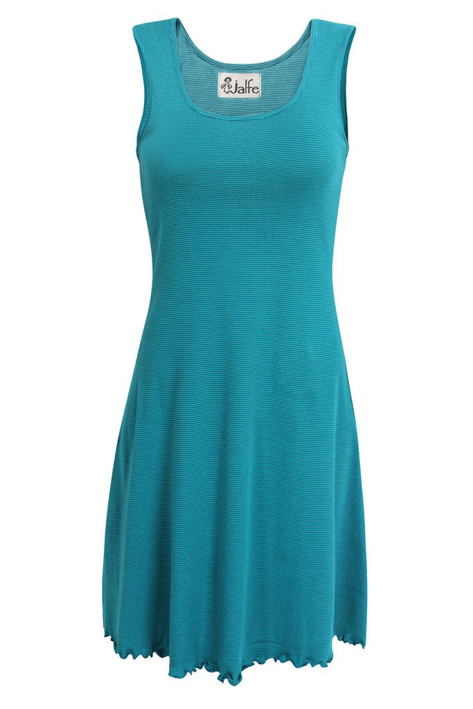 Jalfe dress petrol-turquoise