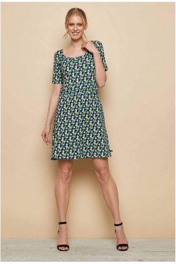 Tranquillo-jurkje-Jersey-dress-YAWA-blue-candy