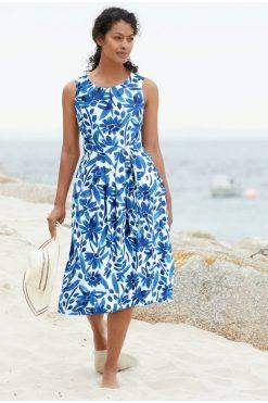 SeaSalt_jurkje_Seamstress-dress-watercolour-floral-cargo-