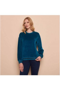 Tranquillo-sweater-velours-Jantje