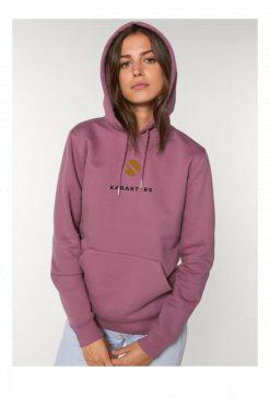 Karakters-hoodie-dames