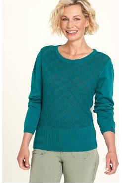 Tranquillo-truitje-knitwear-petrol