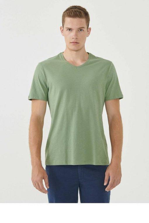 Organication-shirt-heren-fern-groen-biokatoen