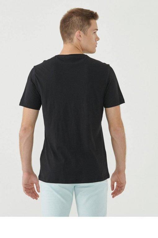 Organication-shirt-heren-print-black
